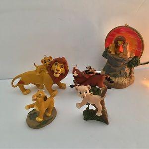 5 LION KING Disney HALLMARK CHRISTMAS ORNAMENTS